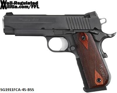 SG1911FCA-45-BSS